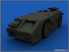 APC 1/72 Scale 3d printed Render of model, colour will vary due to material choiceRender of model, colour will vary due to material choice