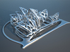 Sydney Opera House 3d printed Stainless steel
