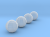Sphere objects for test printing_V1.2 3d printed