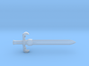 Sword of Omens 3d printed