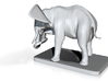 Elephant Bookholder (right Side) 3d printed