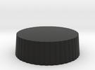 Customizable Nikon Rear Lens Cap in Black Strong & Flexible