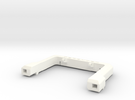 Defender A-Frame Protection Bar - Vanquish in White Strong & Flexible Polished