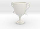Mini trophy in White Strong & Flexible