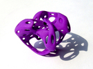 S5r012s8 GenusReticulum in Purple Strong & Flexible Polished