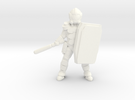Dominion Peacekeeper (28mm scale) in White Strong & Flexible Polished