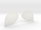 LensHolesKEVv2 in White Strong & Flexible