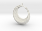 Luna1 pendant in White Strong & Flexible