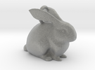 Bunny Pendant  in Metallic Plastic