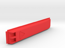 KEYPORTSLIDE 2.0 SidePlate for Toothpick & Tweezer in Red Strong & Flexible Polished