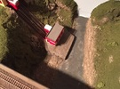 N Scale / N Gauge (1:148) Lower Funicular Station in White Strong & Flexible