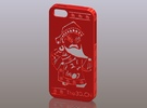 iPhone5_The Chinese Style--Traditional Opera 07 in Red Strong & Flexible Polished