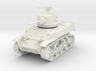 PV90A M5 Stuart Light Tank (28mm) in White Strong & Flexible