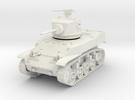 PV90A M5 Stuart Light Tank (28mm) in White Strong & Flexible