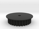 Encoder Pulley 2.0 in Black Strong & Flexible