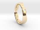 Swing Ring elliptical 18.5 mm inner diameter in 14K Gold