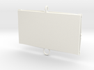 Baci Perugina Frame - Single in White Strong & Flexible Polished
