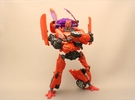 Autobot Dino Ankle Parts in Red Strong & Flexible Polished