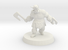 Ogre Berserker in White Strong & Flexible