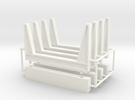 1/50th Staging Log Bunks in White Strong & Flexible Polished