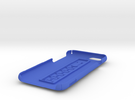 SIMPLcase for iPhone 6s, 6 in Blue Strong & Flexible Polished