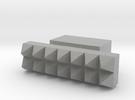 LUX 3 (handle) in Metallic Plastic