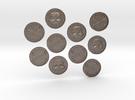 TEN Coins of Acheron in Stainless Steel