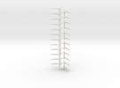 Stootjuk NS schaal N 12 stuks in White Strong & Flexible