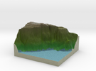 Terrafab generated model Mon Dec 21 2015 21:51:59  in Full Color Sandstone