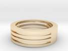M003 Mans Wide Band in 14K Gold