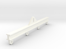1/50 Load Spreader Bar (Rectangular) in White Strong & Flexible Polished