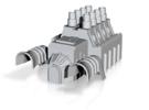 MST3K - Tom Servo Engine - Thin in White Strong & Flexible