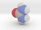 Urea molecule (x40,000,000, 1A = 4mm) in Full Color Sandstone