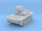 PV109B T37A Amphibious Tank (1/100) in Frosted Ultra Detail