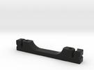 Splitboard Toe Piece Snap  1.3 8.70(0) in Black Strong & Flexible