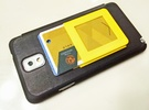 $10.99 Kickstand Credit Card Wallet. in Yellow Strong & Flexible Polished