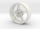 F80 Wheel in White Strong & Flexible