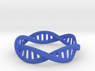DNA Bracelet (Medium) in Blue Strong & Flexible Polished