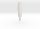 29mm 4:1 Ogive Nose Cone in White Strong & Flexible