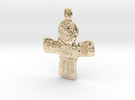 Crucifix Danish 10th century in 14K Gold