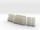 N.05C - A Set Waratah Trailer Glazing - Part C in Transparent Acrylic