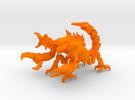 Skorbiont 002 in Orange Strong & Flexible Polished