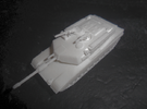 MG144-US01A M1A1 MBT in White Strong & Flexible