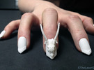 Dragon Master Nails (Size 0) in White Strong & Flexible