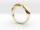 Dome Ring in 14K Gold