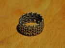Knitter's Ring (59mm) in Stainless Steel