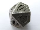 Thoroughly Modern Die10 in Stainless Steel