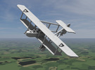 Henri Farman HF.20 in White Strong & Flexible: 1:144
