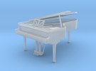 Miniature 1:48 Grand Piano in Frosted Ultra Detail