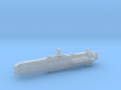 Mechanized Empire Battleship Mk 4 in Frosted Ultra Detail
